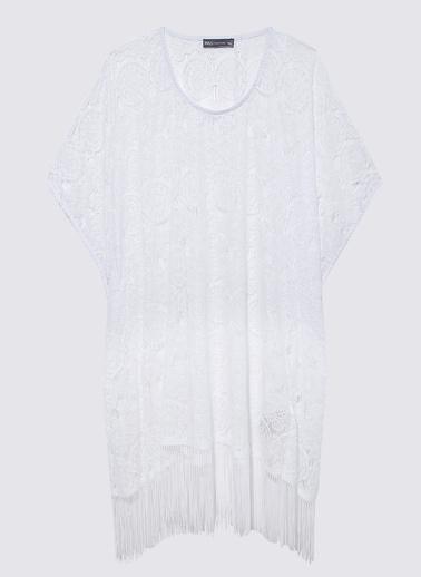 Marks & Spencer Plaj Elbisesi Beyaz